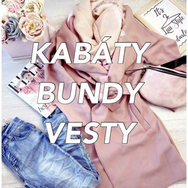 Kabáty, bundy, vesty